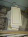 Lot of white cabinet doors