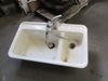 Double Cast Iron Kitchen Sink