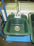 Single Basin Cast Iron Wet Bar Sink