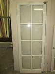 8-Lite Salvaged Hinged Window