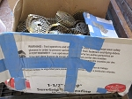 Box of Sure Grip Coil Roofing Nails