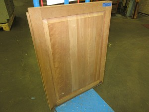 Lot of (3) Single Panel Cabinet Doors