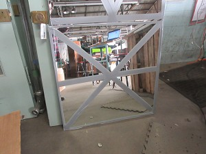Plate glass  mirror 36 x 36.5