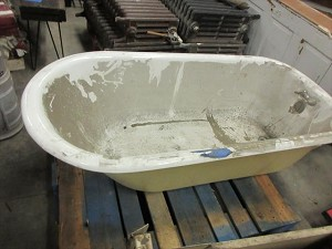 Claw Foot Tub with Feet
