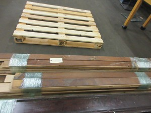 Lot of (2) Bundles - Vintage 1920's Birch Bead Board From Ashtabula School