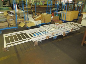 Lot of (4) Exterior Metal Railings