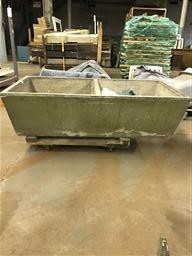 Concrete Farmhouse Double Bowl Sink
