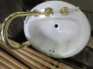 Drop In Sink with Faucet