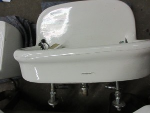Vintage Rounded Front Double Drinking Fountain
