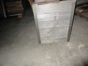 Bin (Wood With Casters)