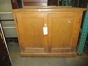School House Salvage Cabinet