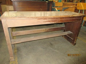Church Salvage  Wooden Organ Cabinet