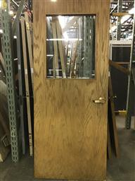 Warnock Hersey Interior Fire Door w/ Glass Window