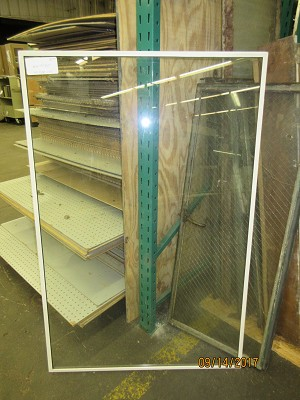 Storm Window Removable Panel