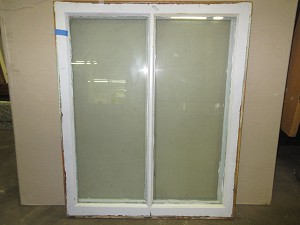 Set of (2) 2-Lite Salvaged Casement Windows