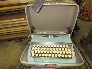Sears antique typewriter